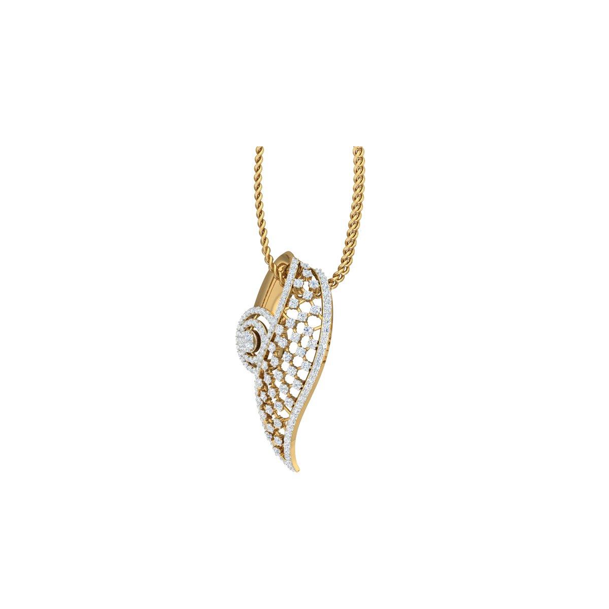 Daisy Diamond Pendant