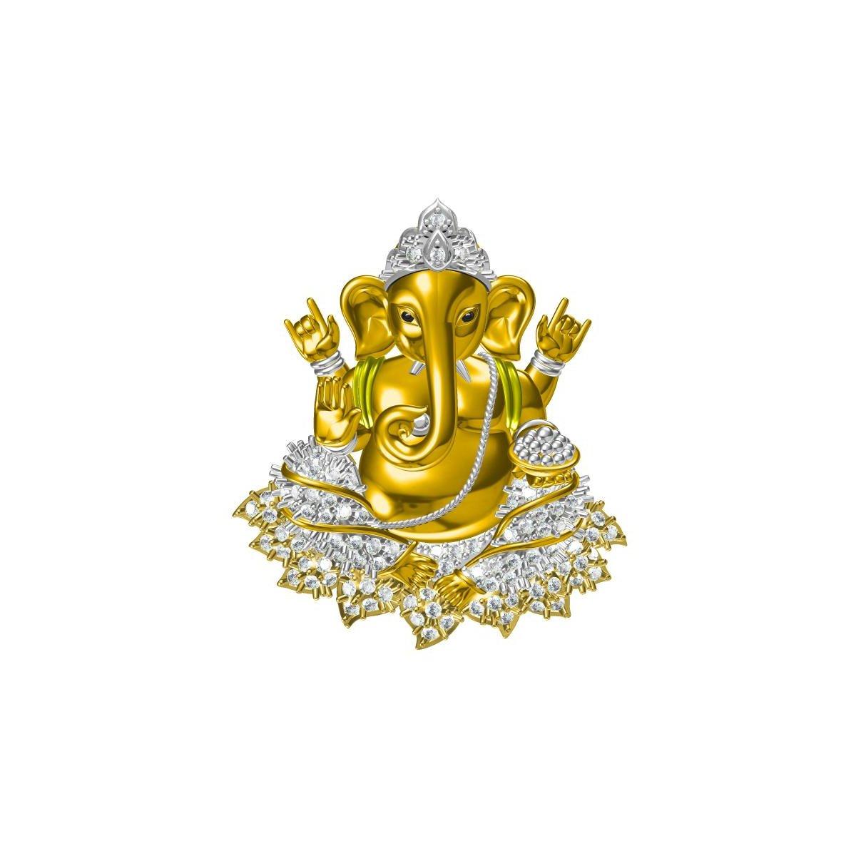 Avaidth Gold Pendant