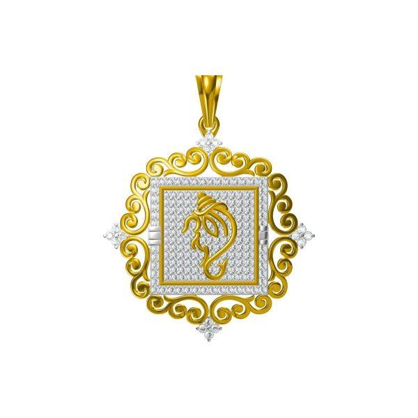 Ekadrishta Diamond Pendant
