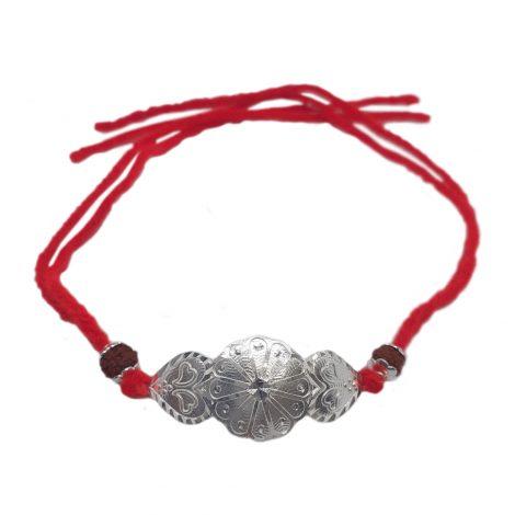 Red Star Silver Raakhi