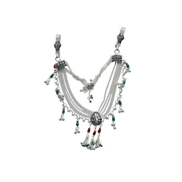 Motimala Silver Kamarband