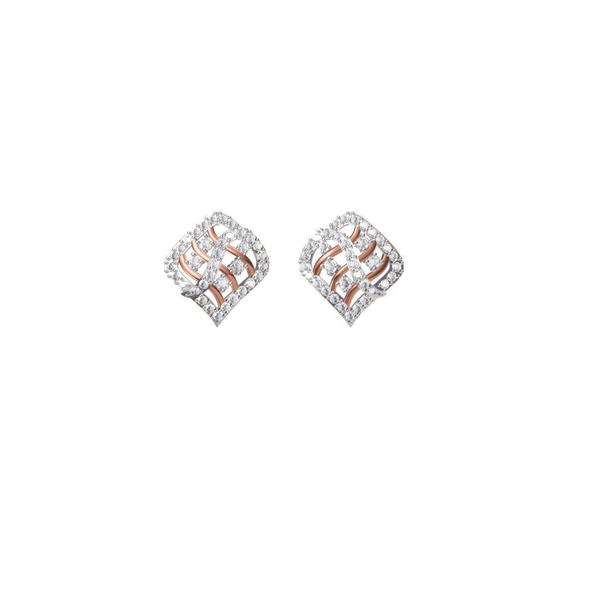 Wallflower Diamond Earrings