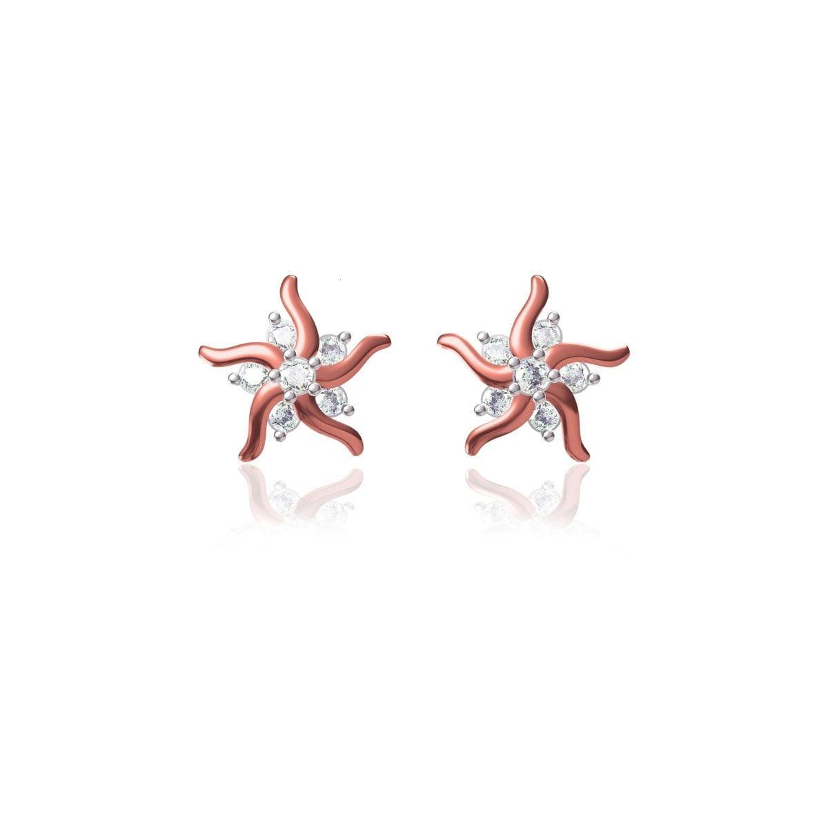Tru Star Gold Earrings