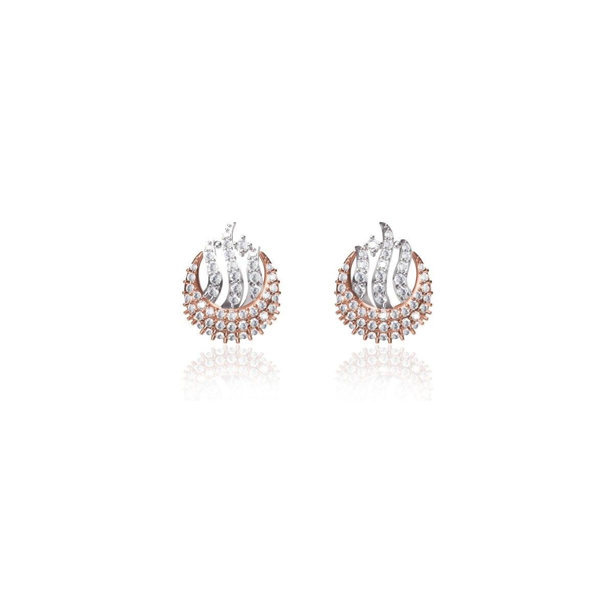 Bluebell Diamond Earrings
