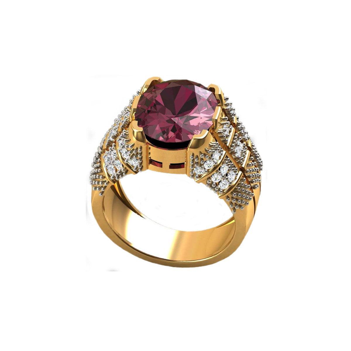 Manek Gold Ring