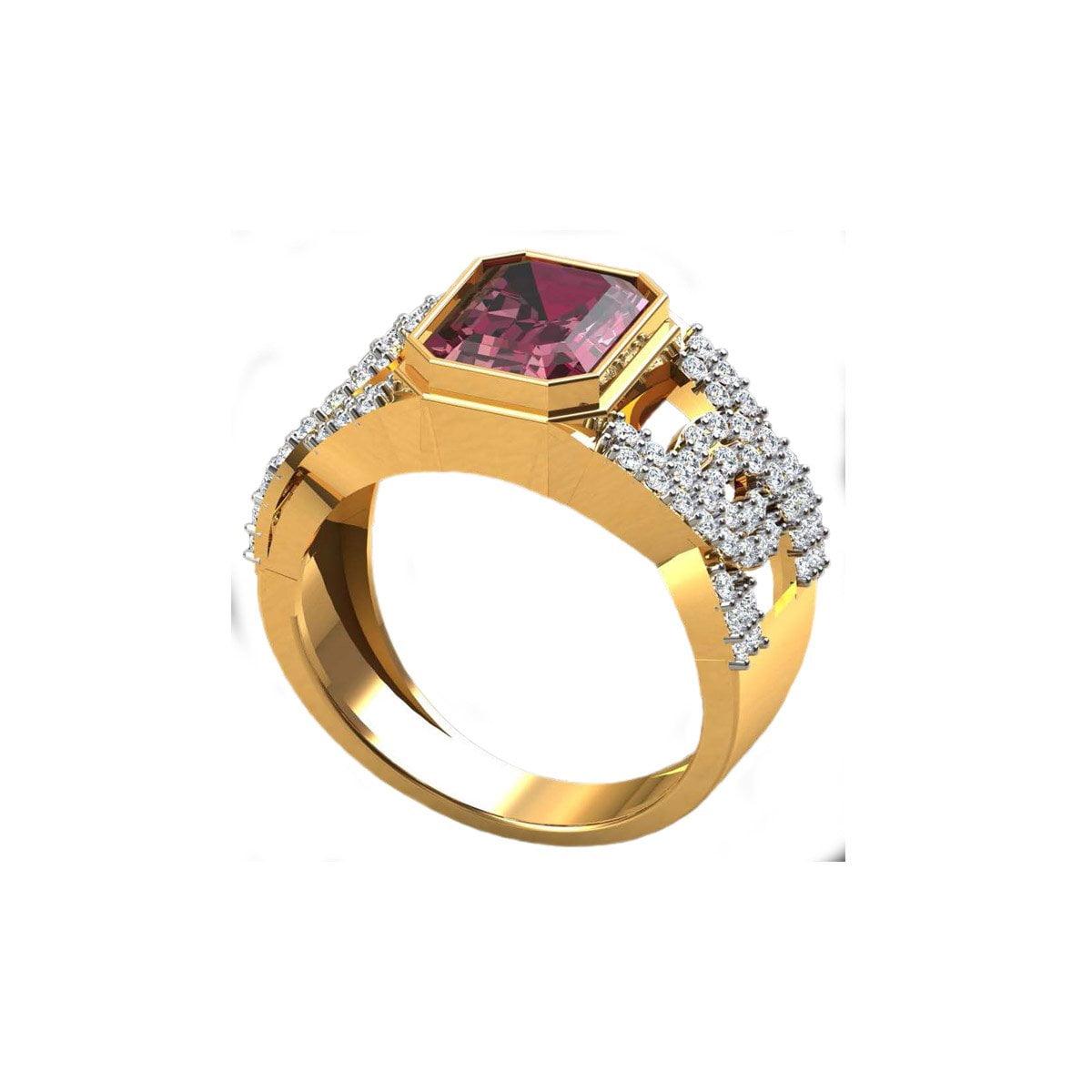 Manikya Gold Ring