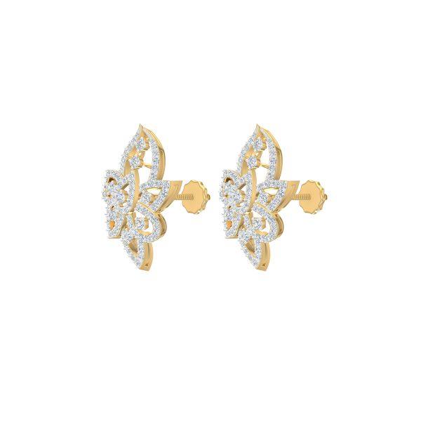 Arclight Diamond Earrings