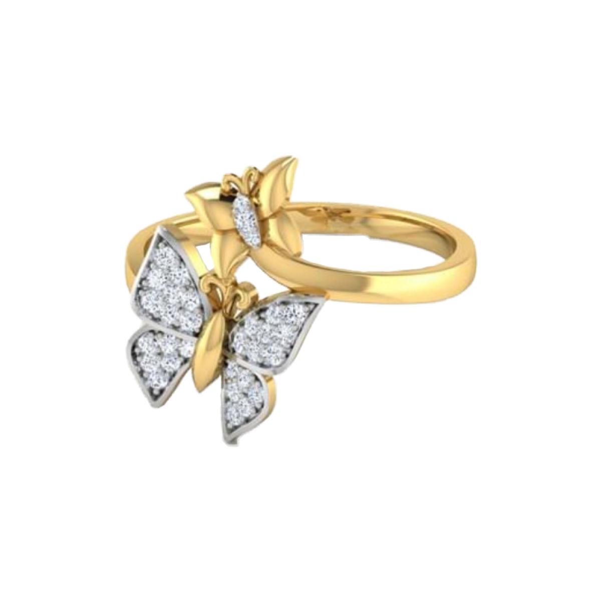 Goldfly Diamond Ring