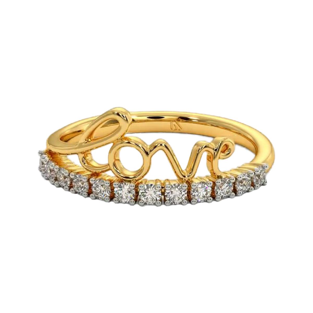 Love Gold Ring