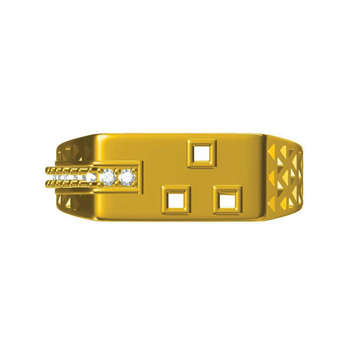 3 Star Gold Ring
