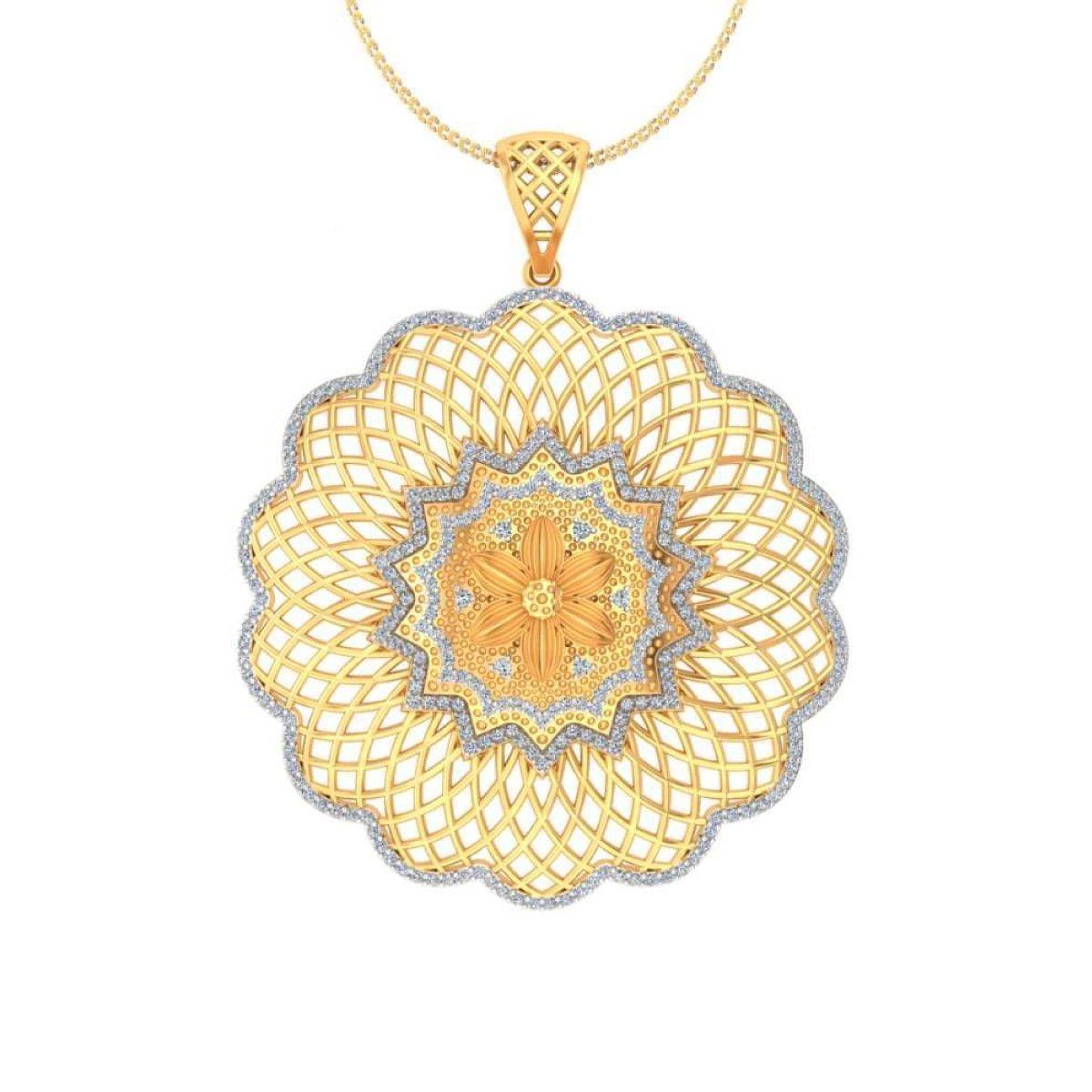 Bloom Gold Pendant