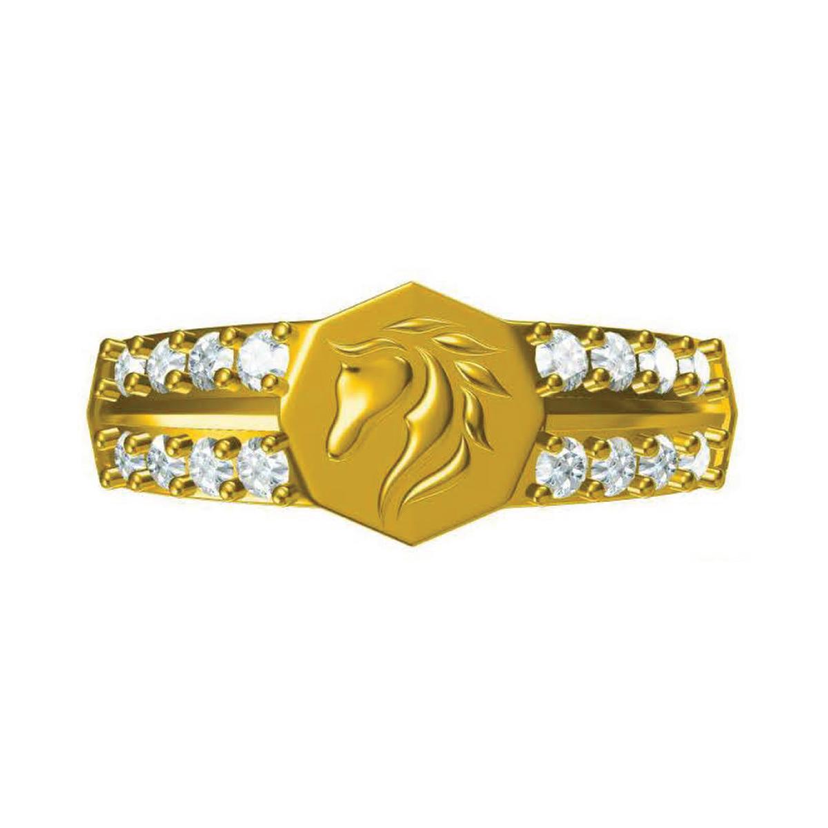 Chetak Gold Ring