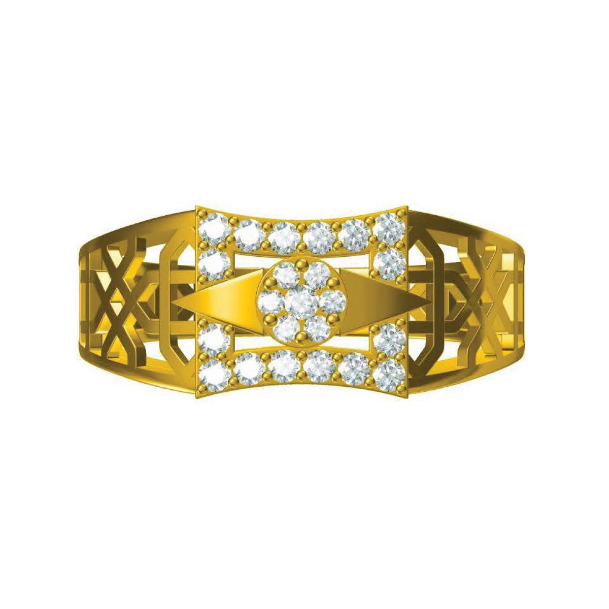 Pius Gold Ring