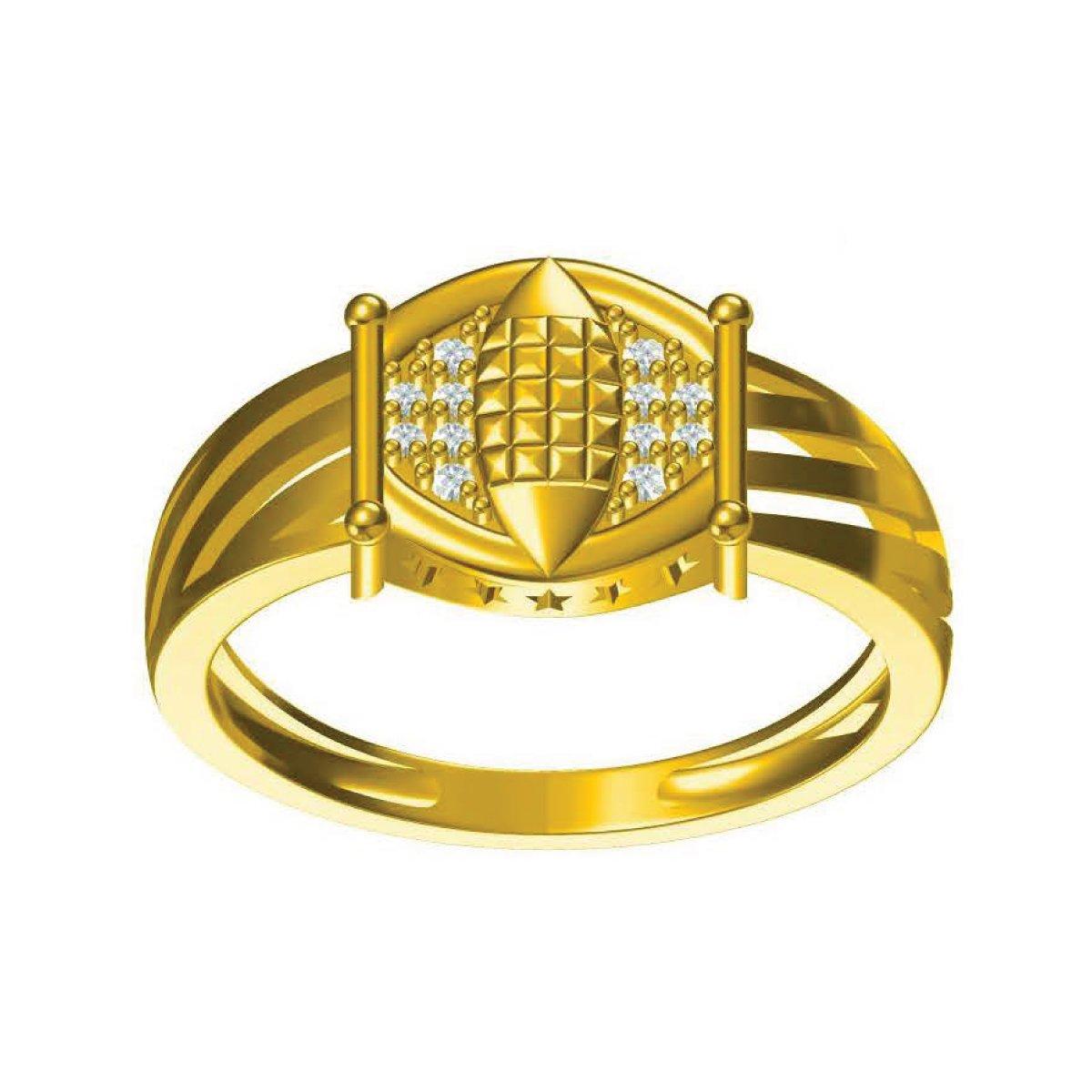 Swarna Sitara Gold Ring